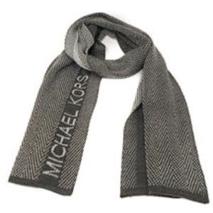 MICHAEL Michael Kors Logo Lurex Scarf NWT